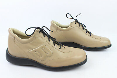 Derby Shoes Sneakers Bocage Beige Leather T 39 Mint