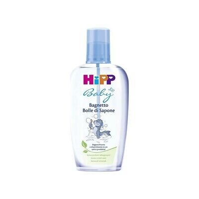 HIPP Baby Bath Foam Bolle Di Sapone - Bubble Blower 200 ml