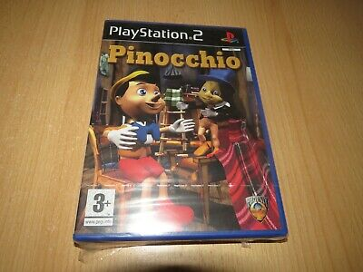 Pinocchio - Sony PlayStation 2 - ps2 pal version new sealed