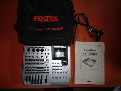 Fostex MR 8 HD Digital Multitracker Recorder mit Tasche