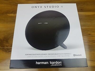 Harman Kardon Onyx Studio 4 Wireless Portable Bluetooth Speaker UK Black