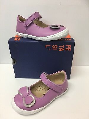 Petasil Diva Girls Summer Mary Jane in Lilac with Bow