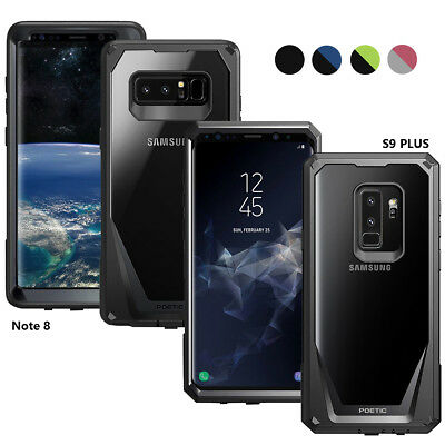 Poetic [Guardian] Rugged Hybrid Bumper Case For Samsung Galaxy S9 Plus / Note 8