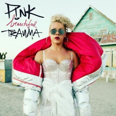 Pink Beautiful Trauma - CD Album - Explicit Edition - Free 2nd Class Postage