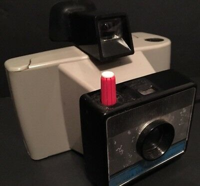 Vintage Polaroid Swinger Sentinel Land Camera With Wrist Strap