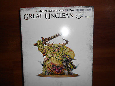 Warhammer Age of Sigmar Daemons of Nurgle/ Great Unclean one