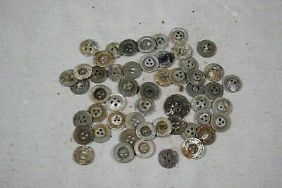 WW2 German Ground Dug Relic Lot Uniform Buttons Pants Shirts Coats Pouches D23