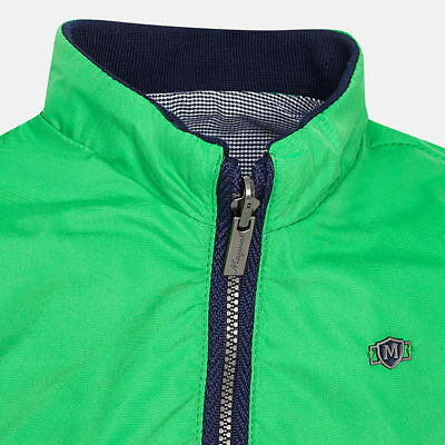 Mayoral Infant Boys reversible summer jacket in Green/Grey Aged 18 months