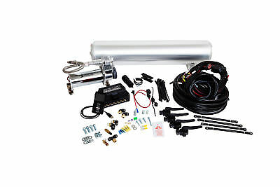 Air Lift AutoPilot 3H ALP3H (1/4″ Air Line, 4 Gallon tank 7 port polished, Vi...