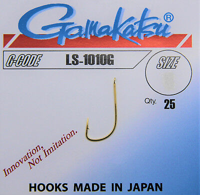 Feeder Platte Gamakatsu Haken LS-2010B Wurmhaken Made in Japan Allround