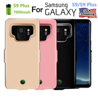 Megnetic Rechargeable Power Bank Battery Charger Case For Samsung Galaxy S10+/S9