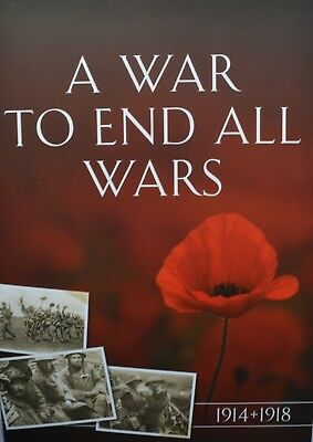 WWI A War to End All Wars 1914-1918 5 Coin Collection Including The Double Gold