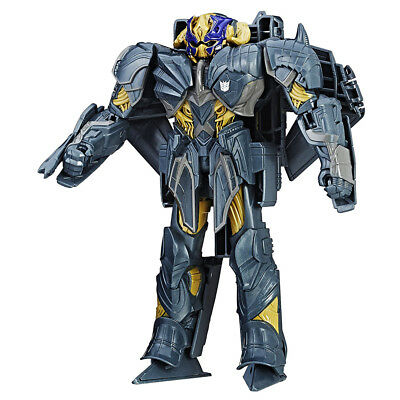 Transformers The Last Knight Turbo Changer Megatron Action Figure - 4 Steps