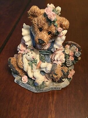 Boyds Bears 1993 Bailey & Wixie...To Have And To Hold