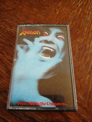Venom - From Hell to unknown MC Tape RAR