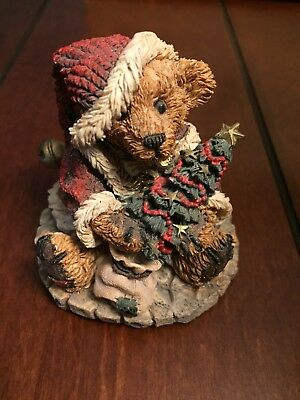 Boyds Bears 1993 Greenville The Santabear