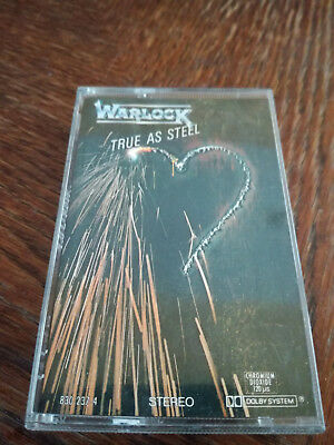 Warlock - True as Steel MC Tape RAR Doro