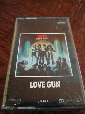 KISS - Love Gun MC Tape RAR
