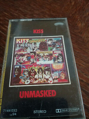 KISS - Unmasked MC Tape RAR