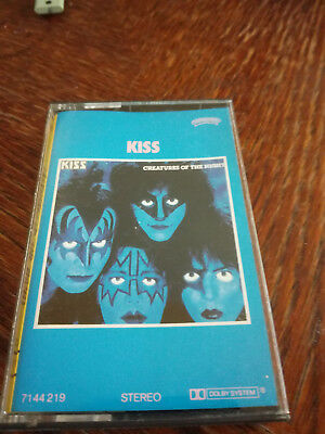 KISS - Creatures of the Night MC Tape RAR