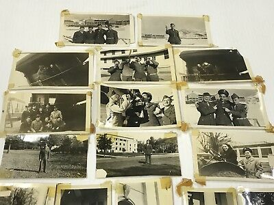 Lot Of 20 Vintage World War II Era WW2 Military Photos Pictures Photography