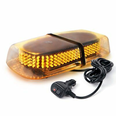 Xprite Amber 240 LED Roof Top Mini Bar, Truck Car Vehicle Law Enforcement Emerge