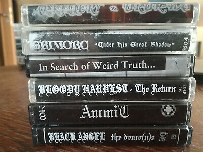 Black Metal Demo Package 5 MC Tape RAR