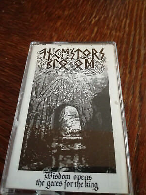 Ancestors Blood - Wisdom opens the gates for the King MC Demo Tape Black Metal