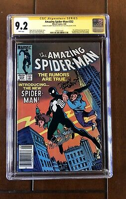 The Amazing Spider-Man #252 Signed By Stan Lee And Danny Fingeroth CGC 9.2