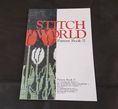 Brother Knitting Machine Stitch World II Pattern Book