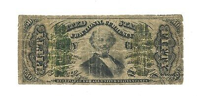 1863  $.50 Fractional Currency, Fr. 1340