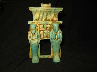 A very large egyptian amulet
