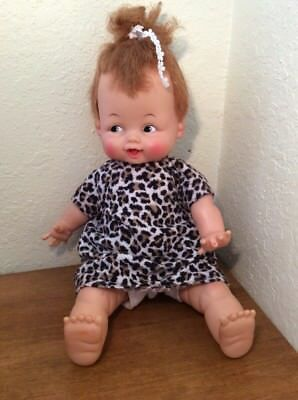 "1963 Ideal Baby Pebbles Flintstones 15"" Doll"