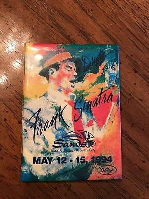 Collectable Frank Sinatra At The Sands Pin