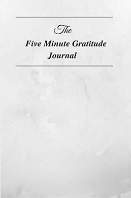 The Five Minute Gratitude Journal by Goodlife Journals New Paperback Book