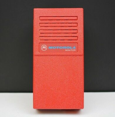 Motorola Minitor I Pager Housing Case New Old Stock Red Part # NHN6253A Vintage
