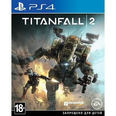 PS4 Titanfall 2 English Russian playstation 4 game NEW