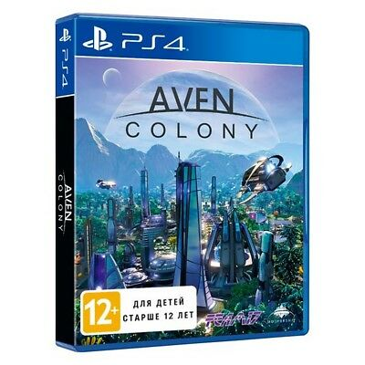 PS4 Aven Colony English Russian playstation 4 game NEW