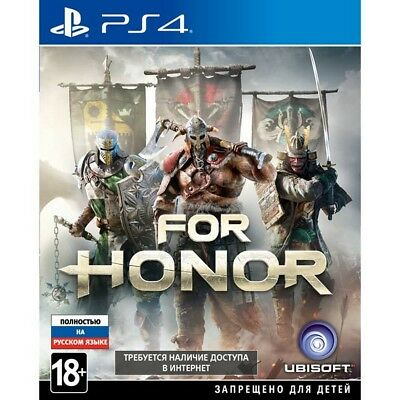 PS4 For Honor English Russian playstation 4 game NEW