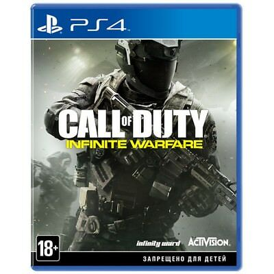 PS4 Call of Duty Infinite Warfare English Russian playstation 4 game NEW