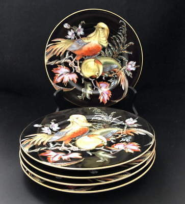 "Fitz & Floyd ""chinese Pheasant"" Salad, Dessert Plates  5, Sold By The Plate"