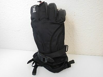 New HEAD Jr Insulated Ski Gloves With Pocket -- BOYS/GIRLS -- Black or Purple