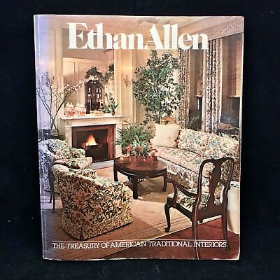 Vintage 1979 80th EDT The Treasury Of Ethan Allen American Traditional  Catalog