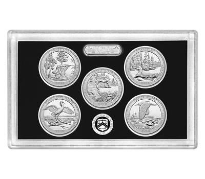 2018 S Silver Quarters 2018 Proof Set Without Box And COA Presale