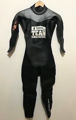 4f8b733011 Fit To Race Unisex Full Triathlon Wetsuit Size S1 (Small) with Bag Mens  Womens