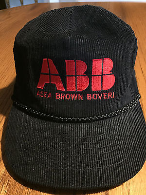 New - Abb - Asea Brown Boveri Cap Hat