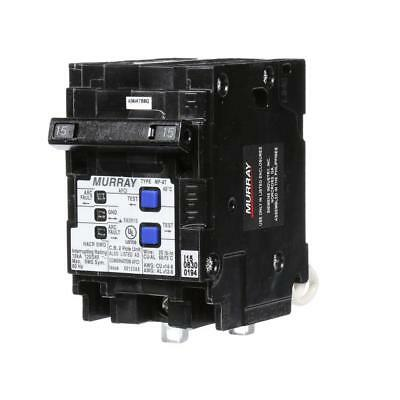 Murray MP215AFCP 15 Amp Double-Pole Type MP-AT Combination AFCI Circuit Breaker