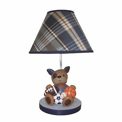 Lambs & Ivy Bow Wow Buddies Lamp with Shade & Bulb