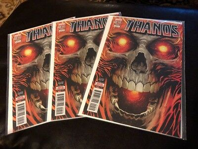 Thanos # 15 X3 2nd Print Variant ! Sold Out! New ! Unread ! Very Cool ! 3 Copies