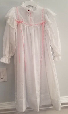 Vintage Pleasant Company American Girls Collection Samantha Nightgown! Sz Small